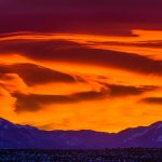 Sunrise over the Sangre de Cristo mountains in northern New Mexico